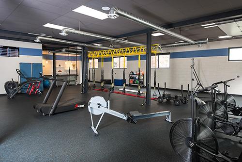 The Elite Training Studio Gym Entrance