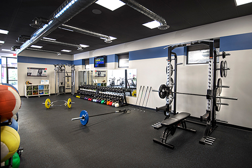 The Elite Training Studio Gym Entrance